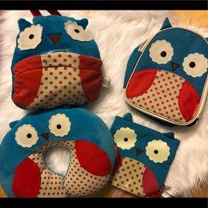 Skip Hop Owl 4pc Set